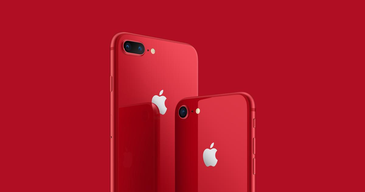 Iphone  Rouge  Fois Sans Frais
