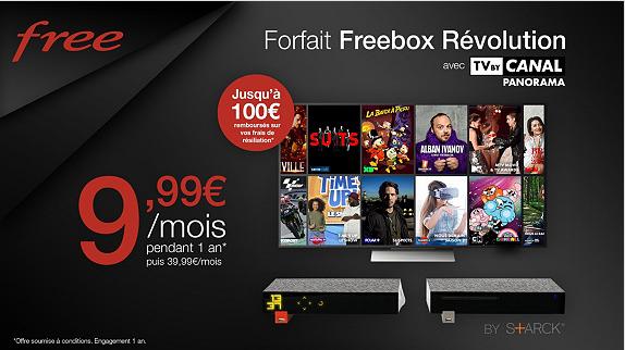 C Est Parti Pour L Offre Vente Privee Freebox Revolution Avec Tv By